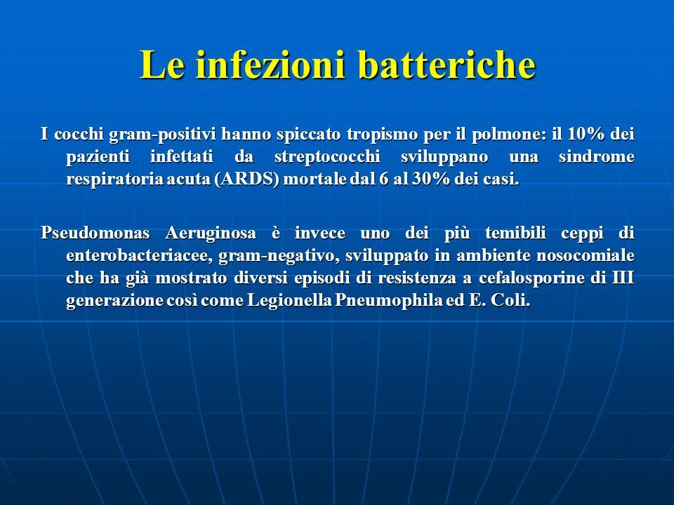 Le infezioni batteriche