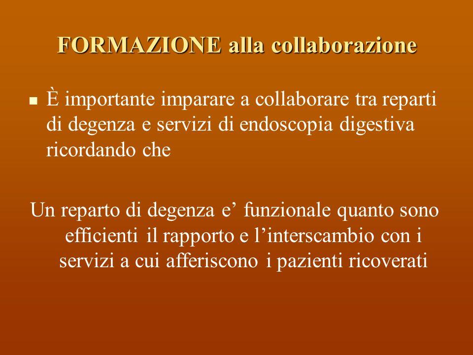 FORMAZIONE alla collaborazione