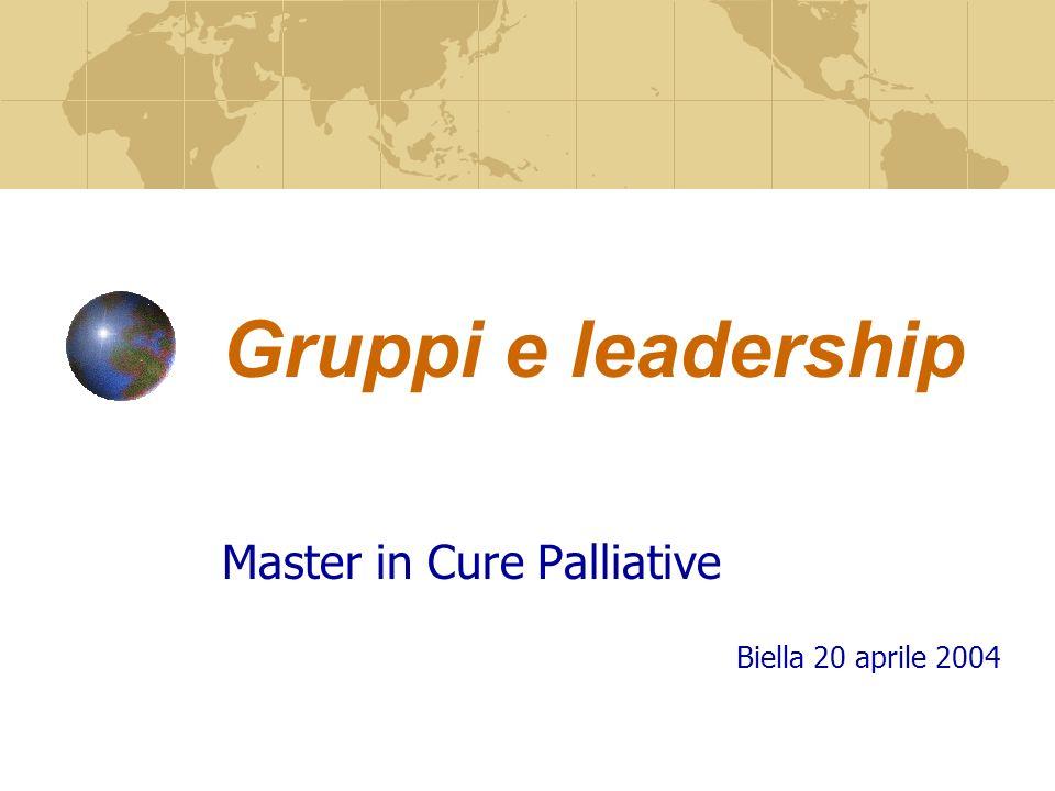 Master in Cure Palliative Biella 20 aprile 2004