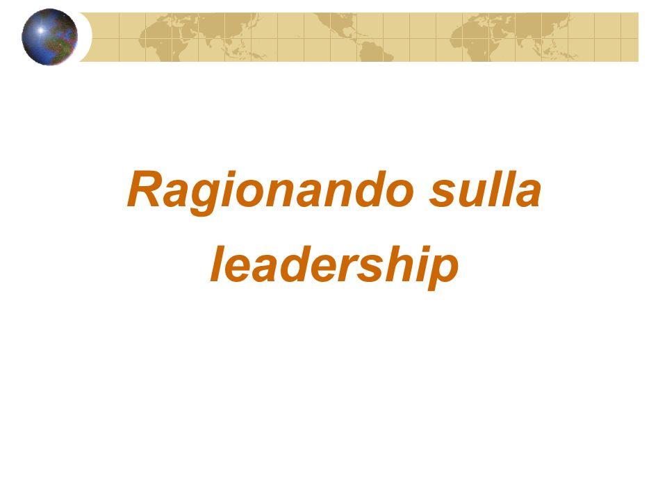 Ragionando sulla leadership
