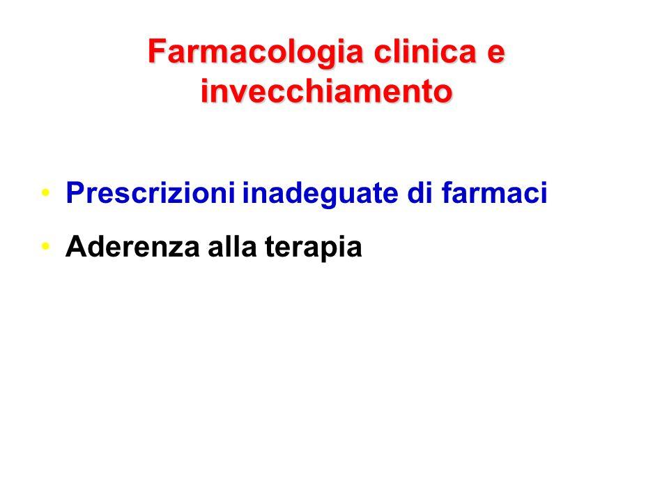 Farmacologia clinica e invecchiamento