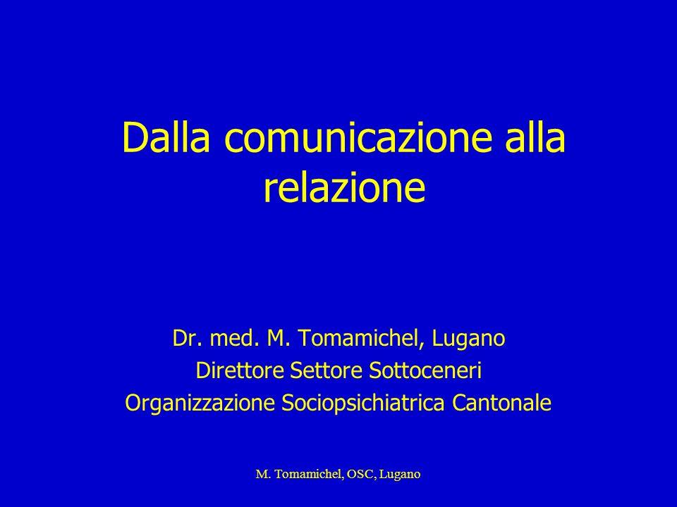 Dalla comunicazione alla relazione