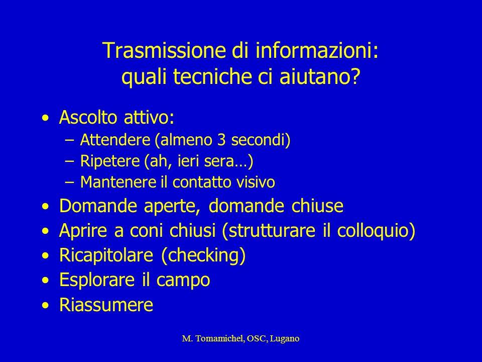 Trasmissione di informazioni: quali tecniche ci aiutano