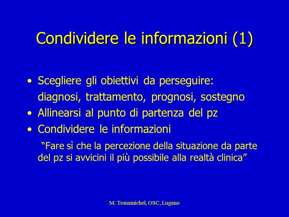 Condividere le informazioni (1)