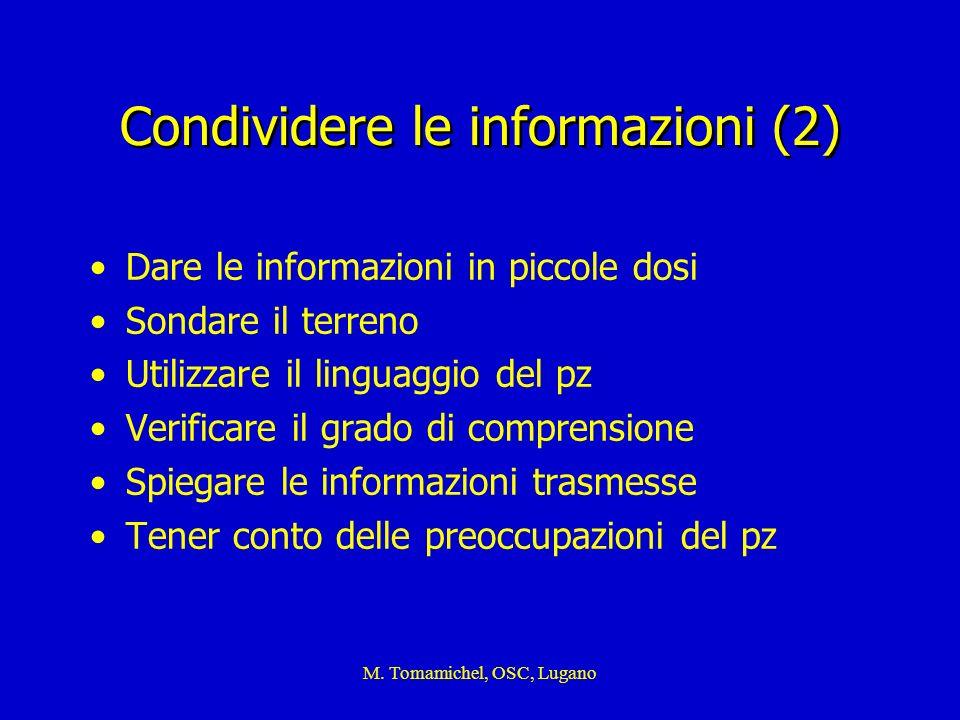 Condividere le informazioni (2)