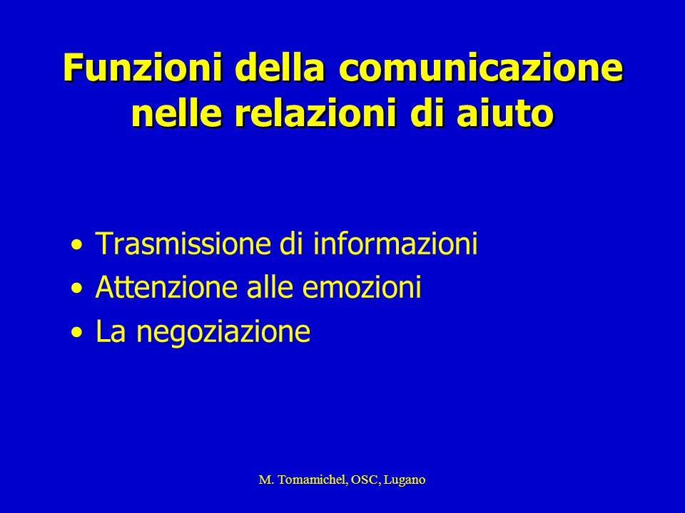 Funzioni della comunicazione nelle relazioni di aiuto