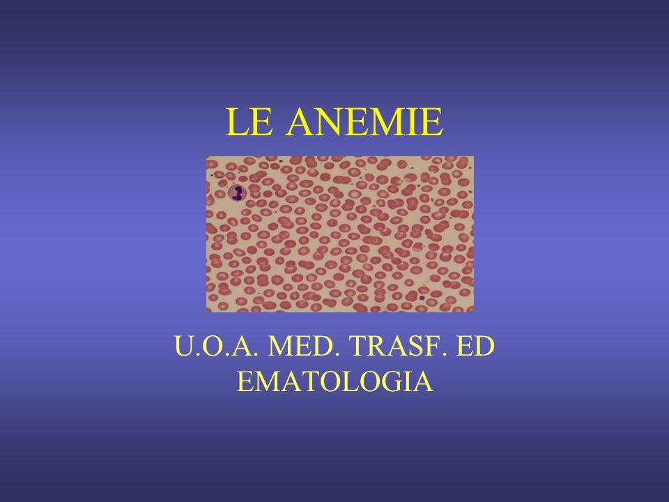 U.O.A. MED. TRASF. ED EMATOLOGIA
