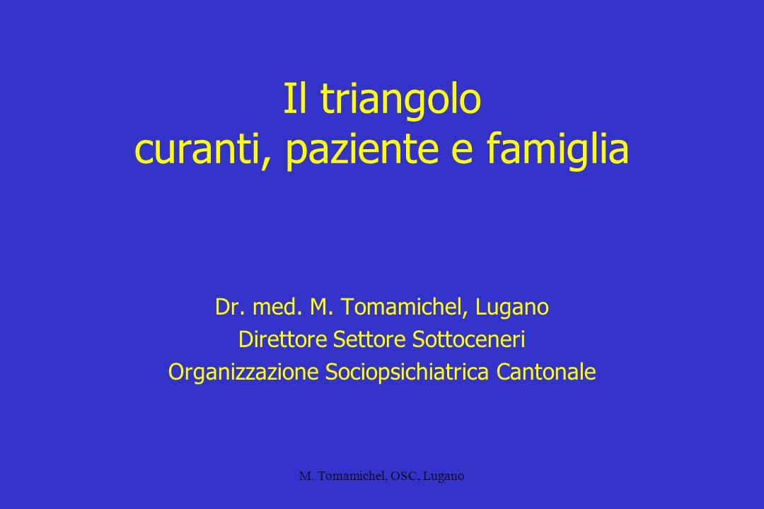 Il triangolo curanti, paziente e famiglia