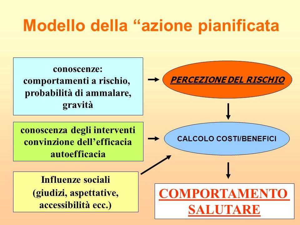 Modello della azione pianificata