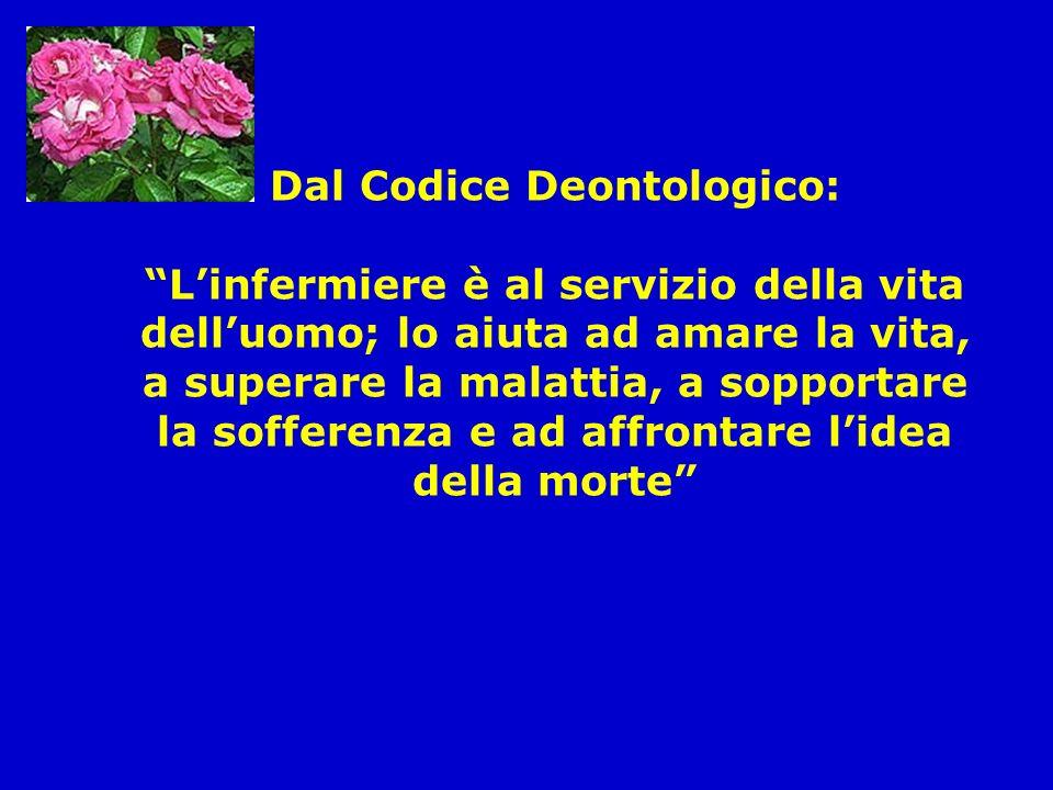 Dal Codice Deontologico:
