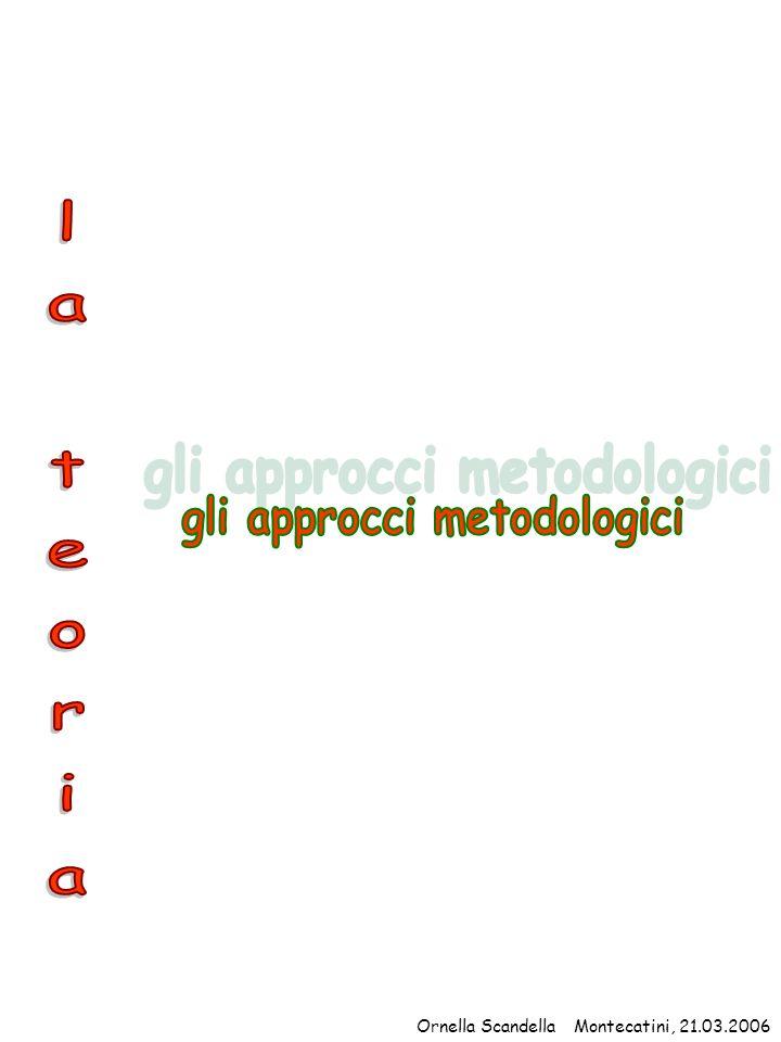 gli approcci metodologici