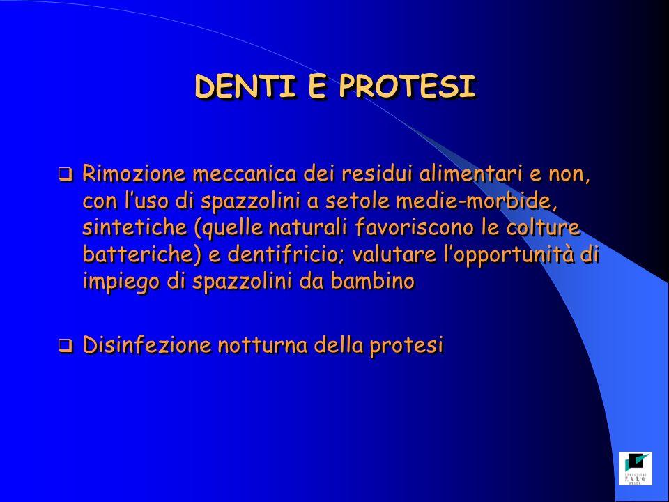DENTI E PROTESI