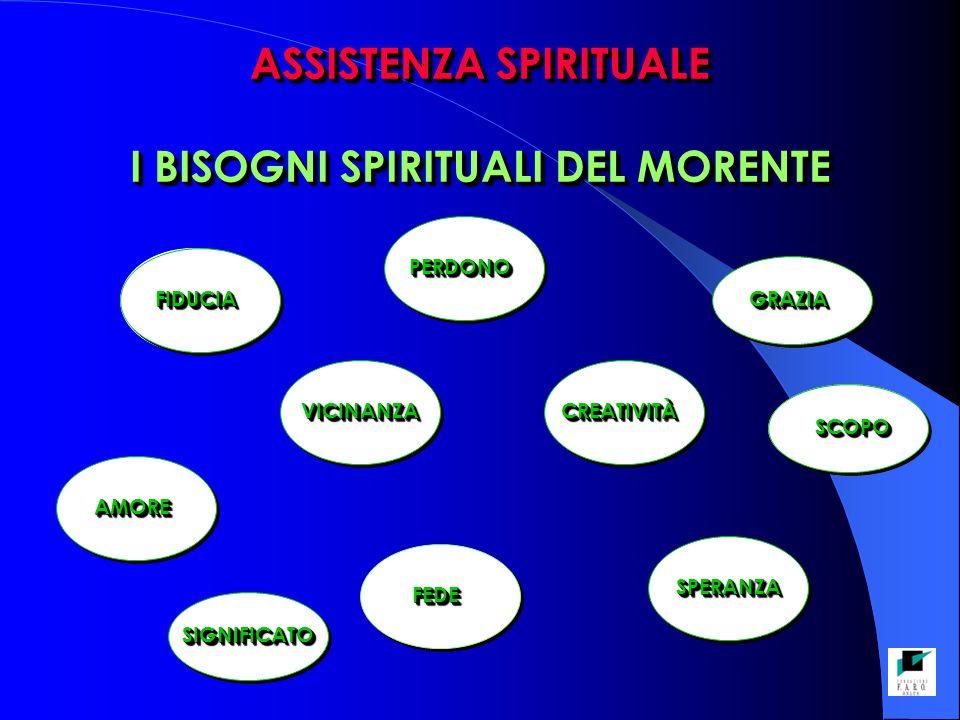 ASSISTENZA SPIRITUALE I BISOGNI SPIRITUALI DEL MORENTE