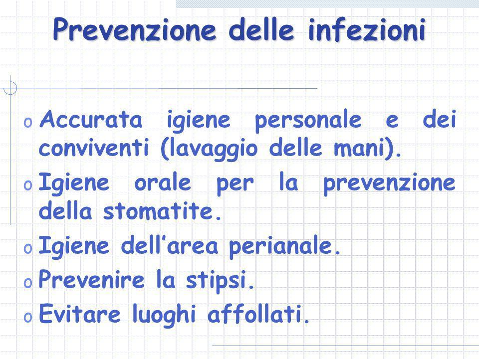 Prevenzione delle infezioni