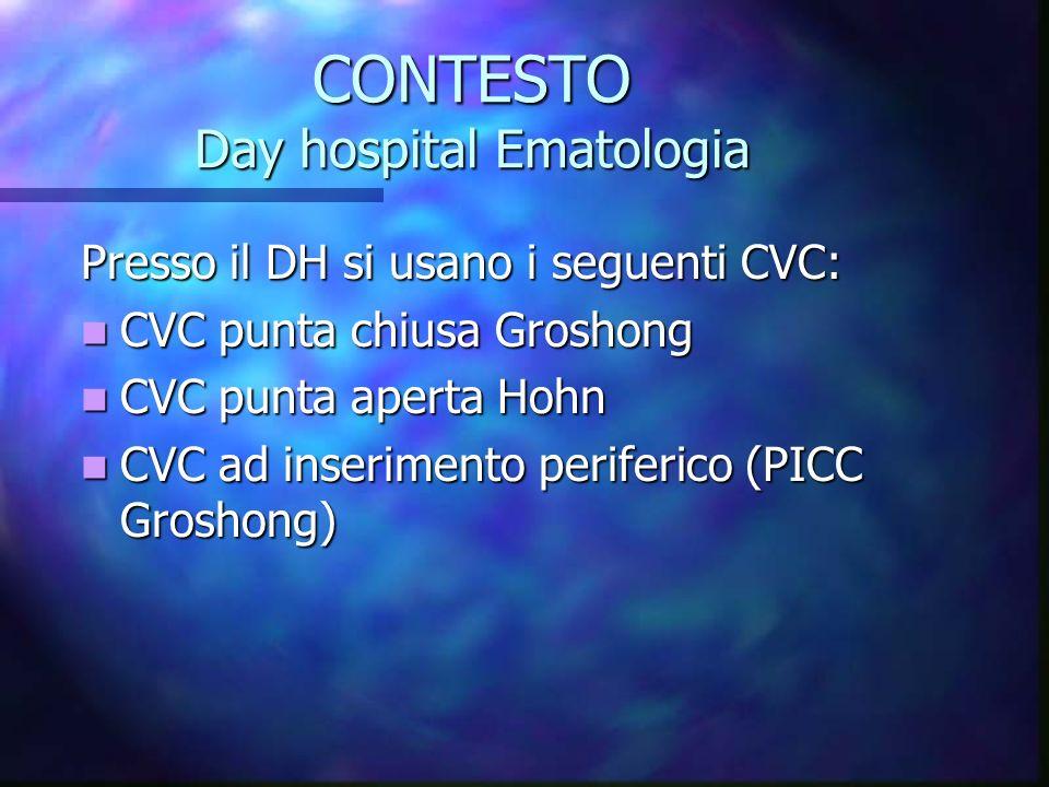 CONTESTO Day hospital Ematologia