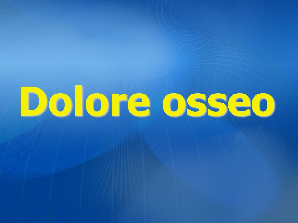 Dolore osseo