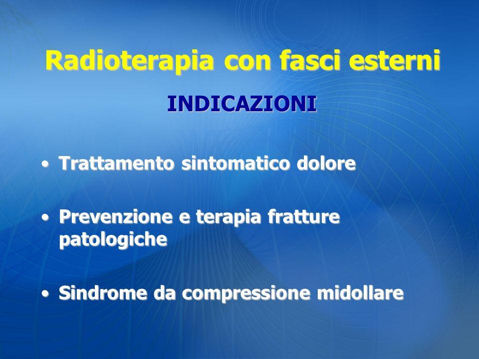 Radioterapia con fasci esterni
