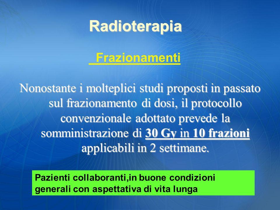 Radioterapia Frazionamenti