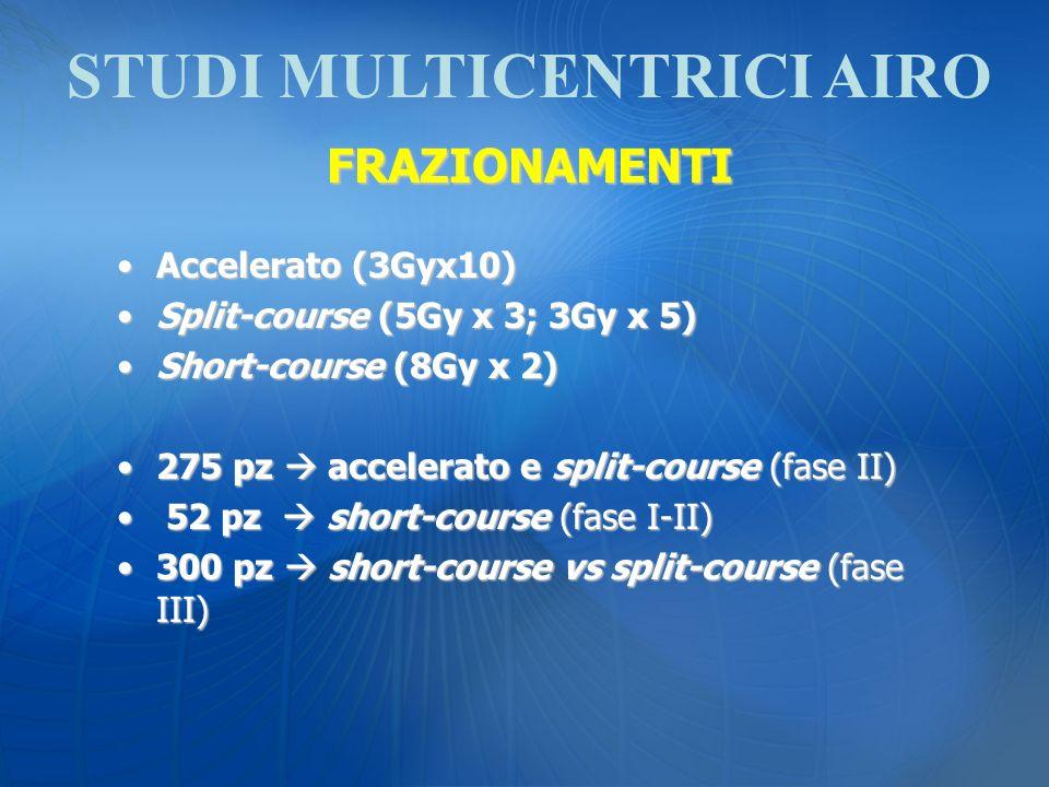 STUDI MULTICENTRICI AIRO
