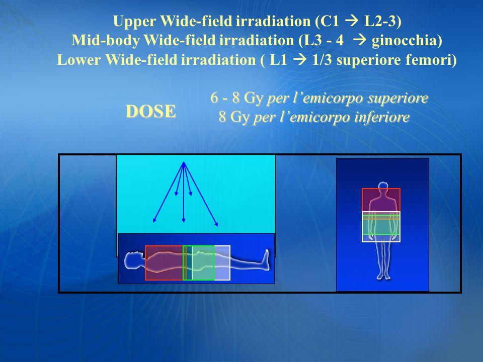 DOSE Upper Wide-field irradiation (C1  L2-3)