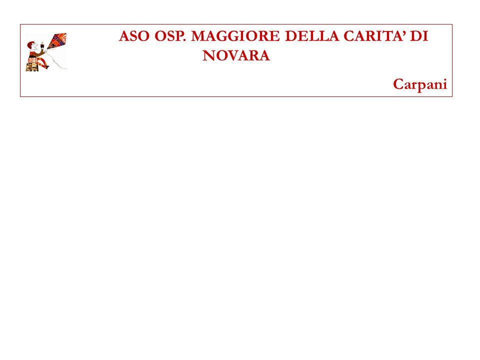 ASO OSP. MAGGIORE DELLA CARITA' DI NOVARA