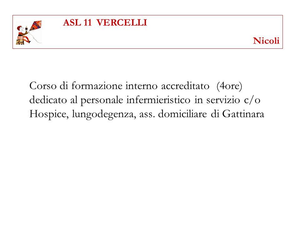 ASL 11 VERCELLI Nicoli.