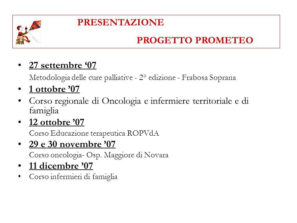 Metodologia delle cure palliative - 2° edizione - Frabosa Soprana