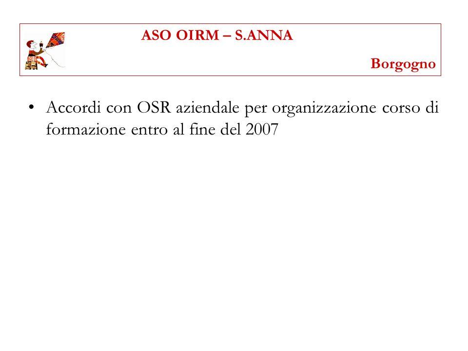 ASO OIRM – S.ANNABorgogno.