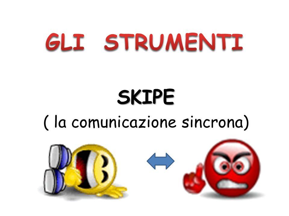 ( la comunicazione sincrona)
