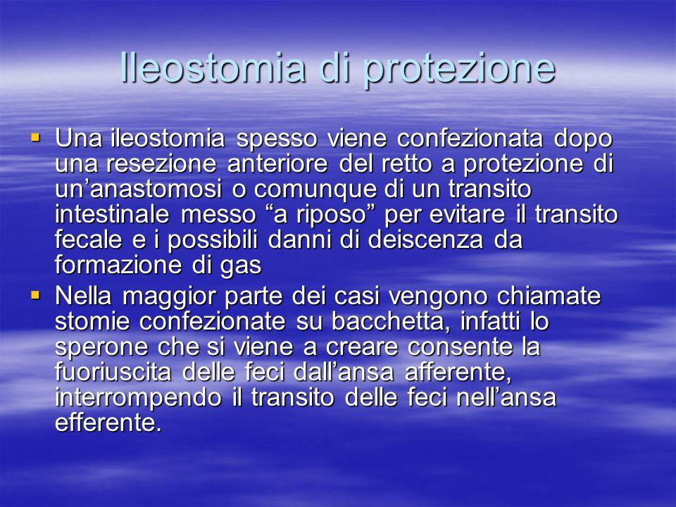 Ileostomia di protezione