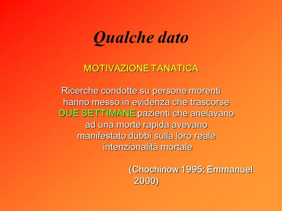 (Chochinow 1995; Emmanuel 2000)