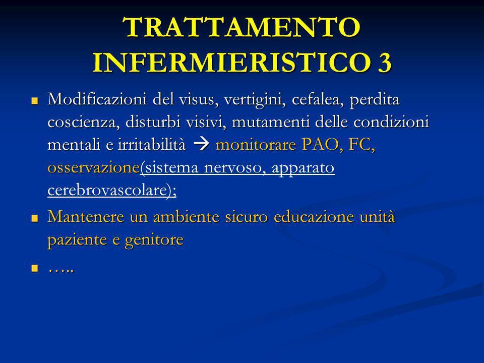 TRATTAMENTO INFERMIERISTICO 3