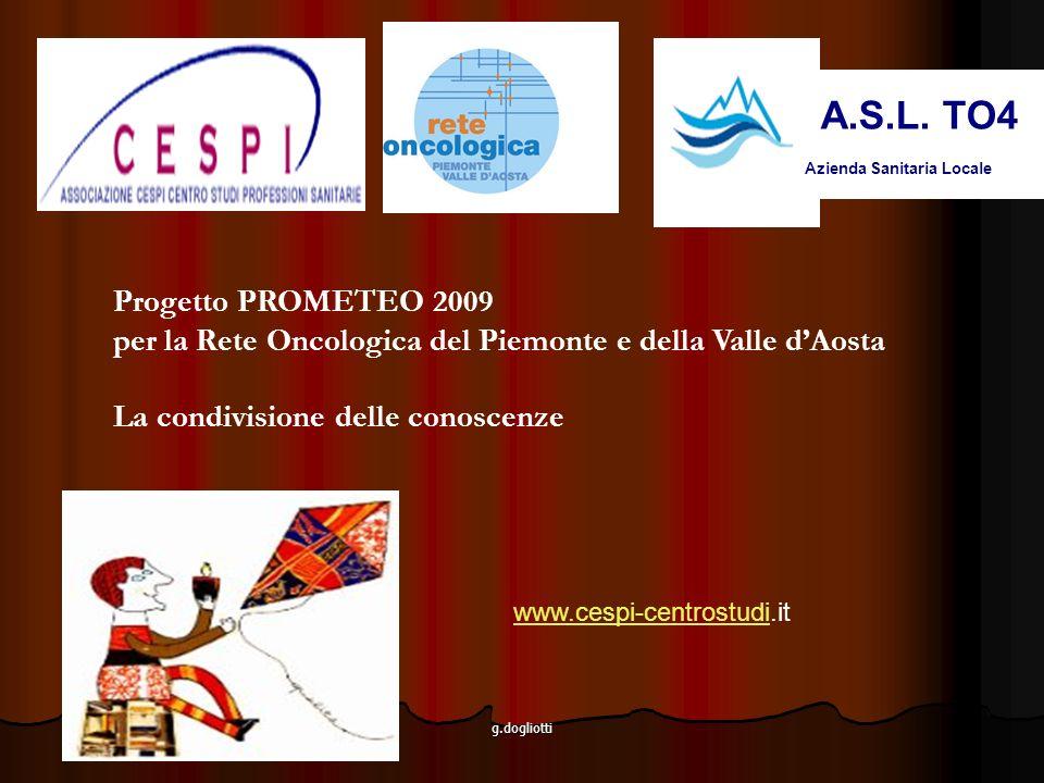 A.S.L. TO4 Progetto PROMETEO 2009