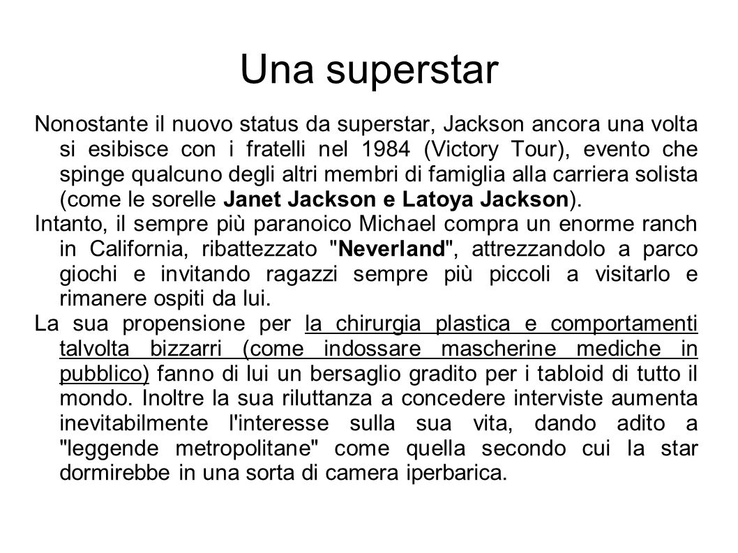 Una superstar