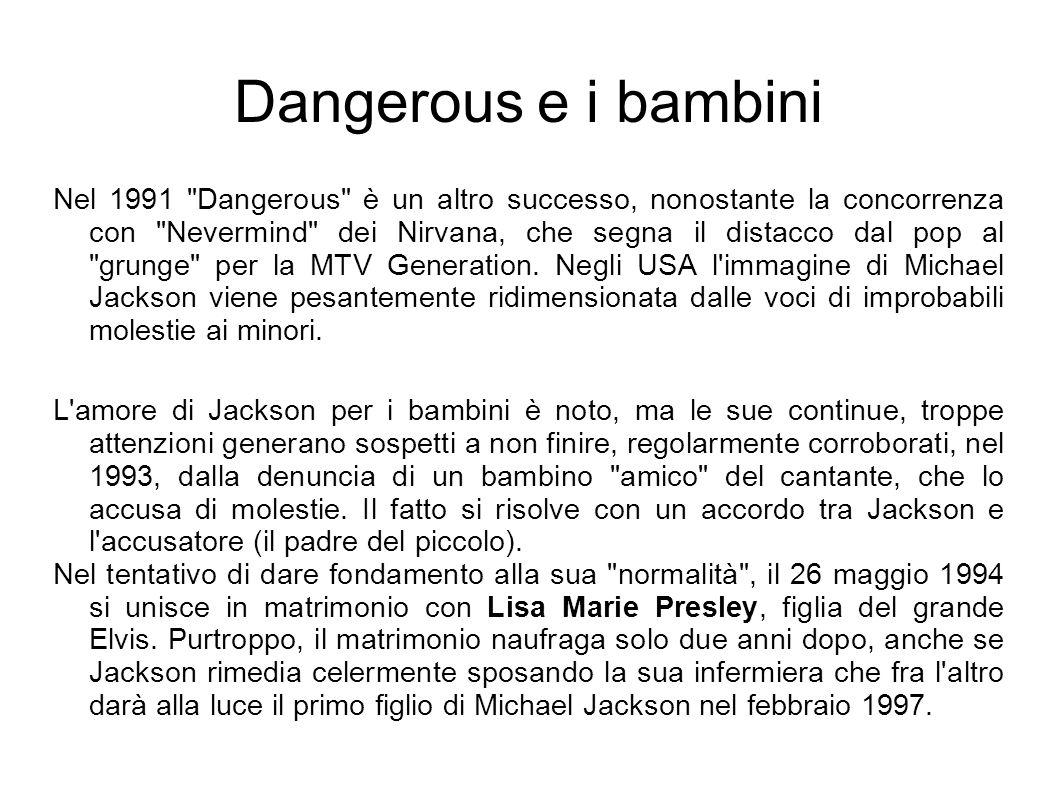 Dangerous e i bambini