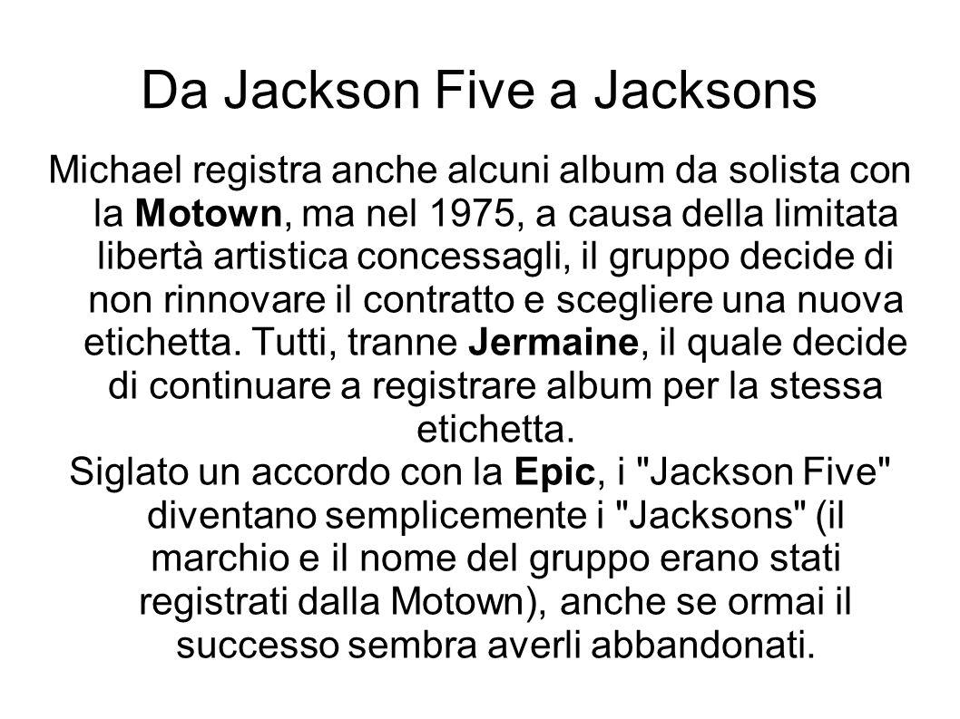 Da Jackson Five a Jacksons