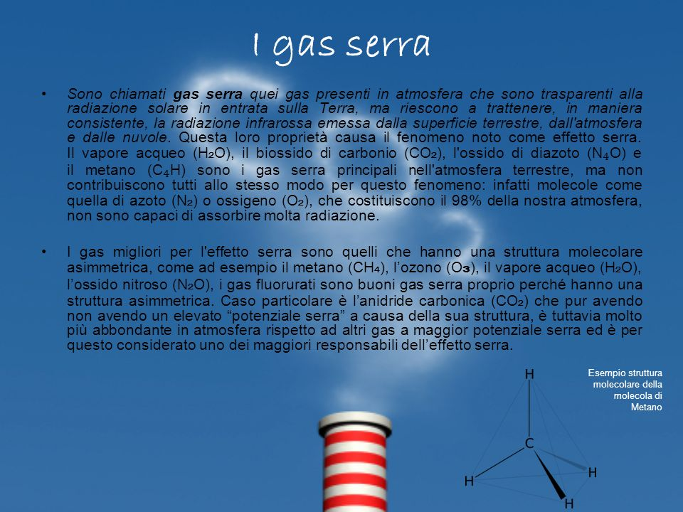 I gas serra