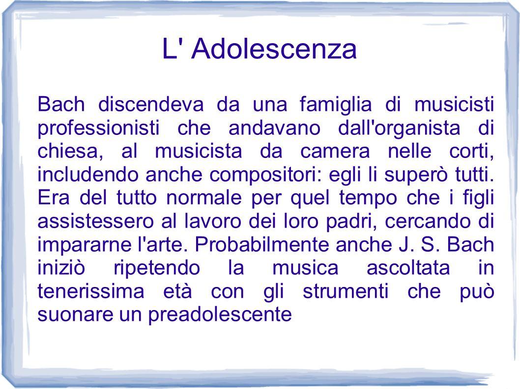 L Adolescenza
