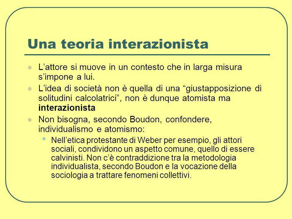 Una teoria interazionista
