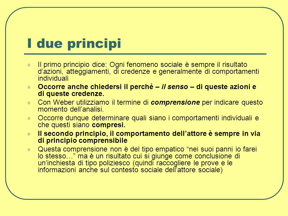 I due principi