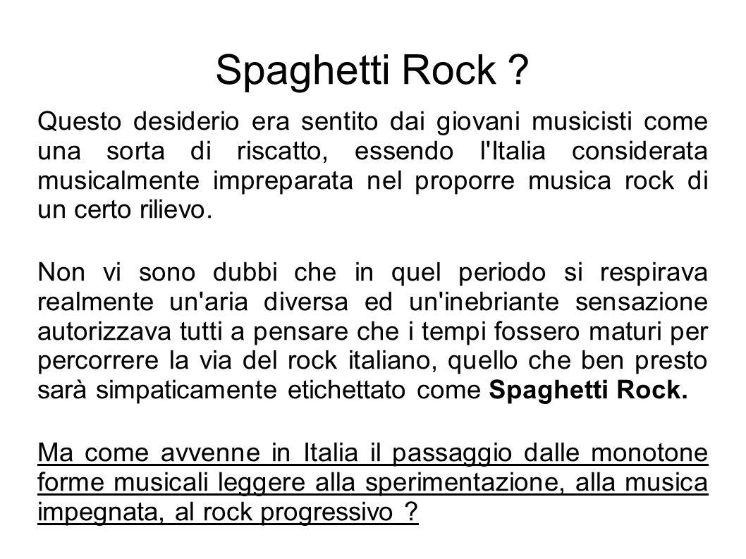 Spaghetti Rock