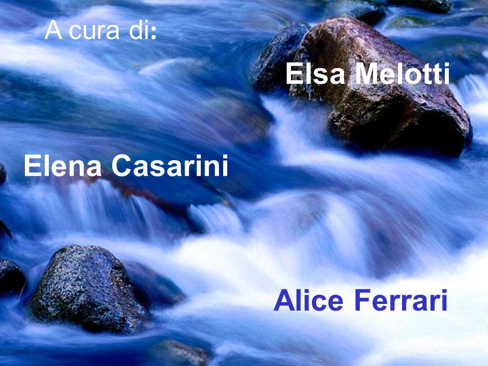 Elsa Melotti Elena Casarini Alice Ferrari