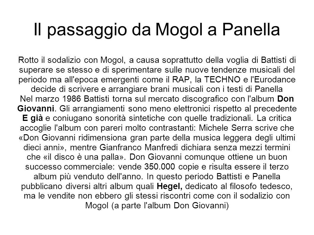 Il passaggio da Mogol a Panella