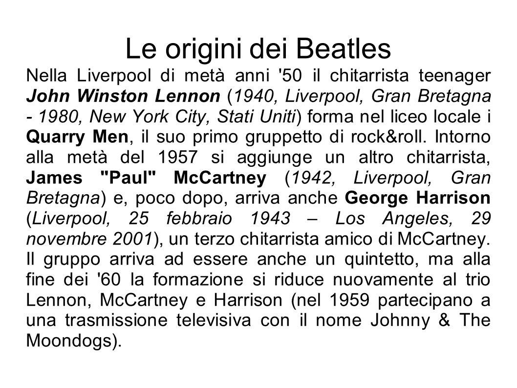 Le origini dei Beatles