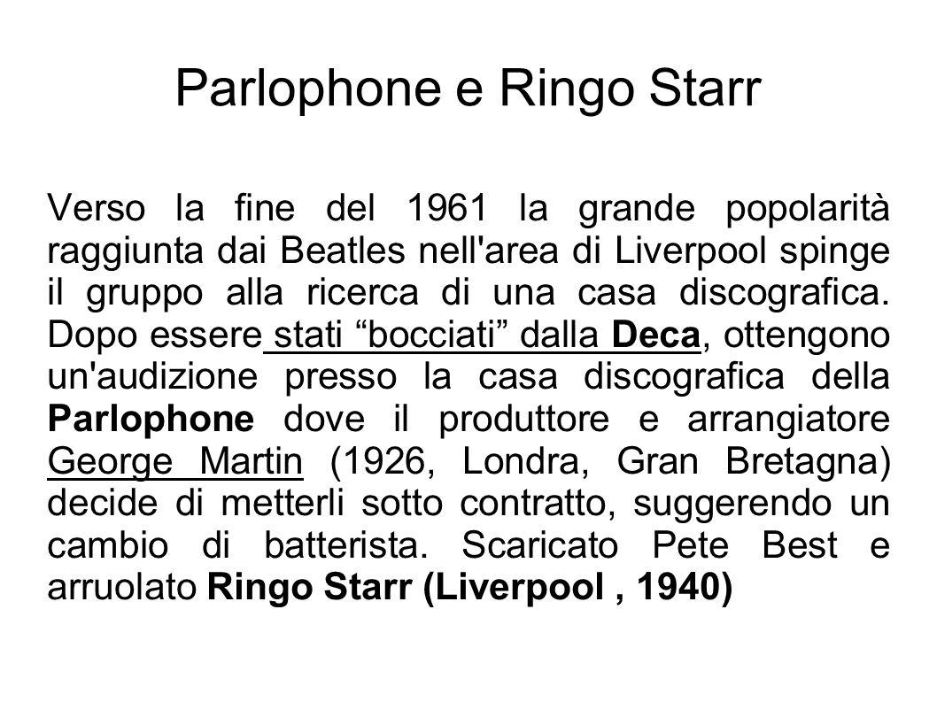 Parlophone e Ringo Starr