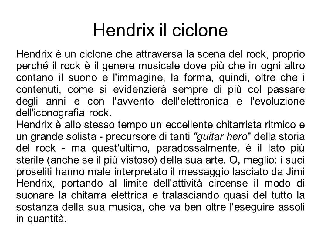 Hendrix il ciclone