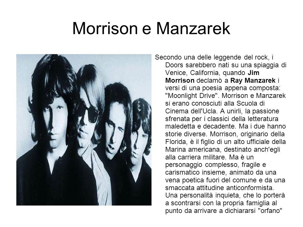 Morrison e Manzarek