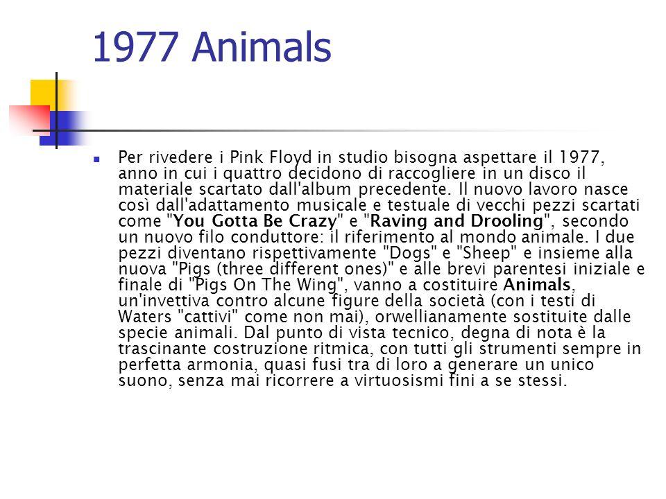 1977 Animals