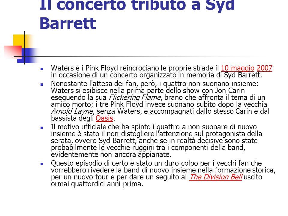 Il concerto tributo a Syd Barrett