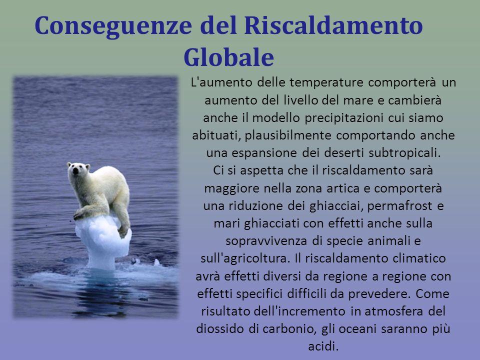 Conseguenze del Riscaldamento Globale